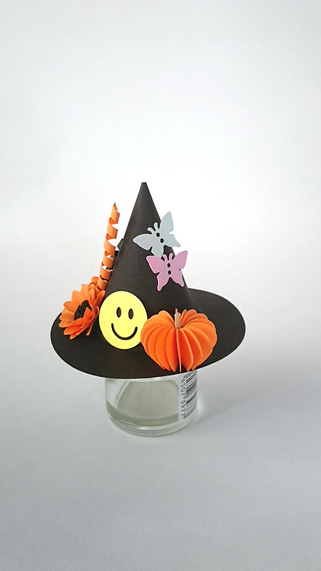 ハロウィン 魔女の帽子(左前)