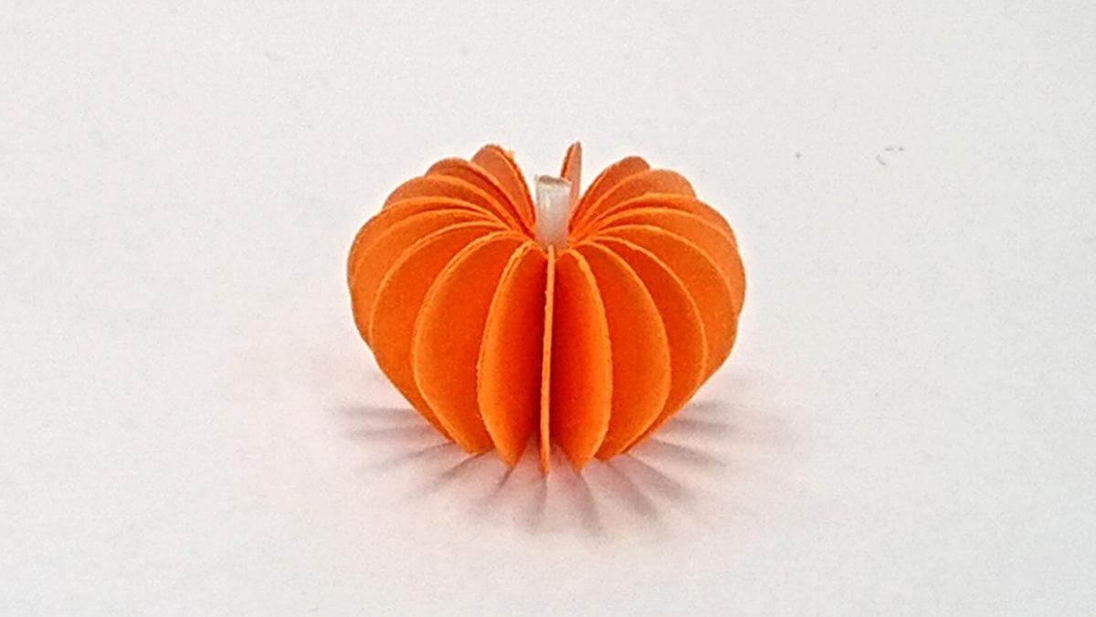 完成したかぼちゃ