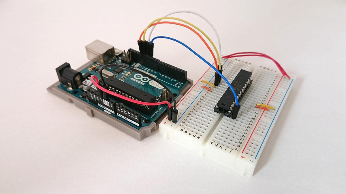 Arduinoで書き込み